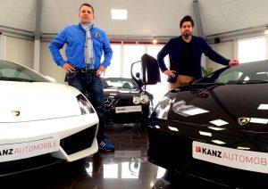 KanzBrüder mit McLaren und Lamborghini